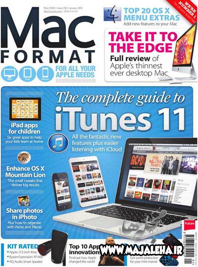 دانلود مجله mac format january 2013